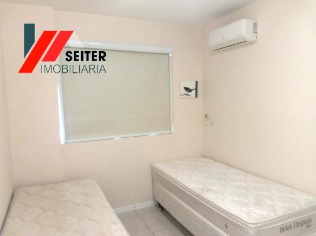 Apartamento mobiliado de 2 dormitorios suite e sacada com churrasqueira no itacorubi - Foto 9
