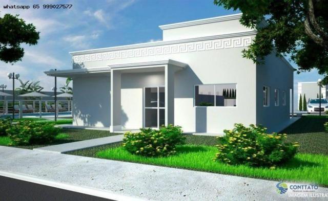 Casa em Condomínio para Venda em Cuiabá, Osmar Cabral, 2 dormitórios, 1 suíte, 1 banheiro, - Foto 2