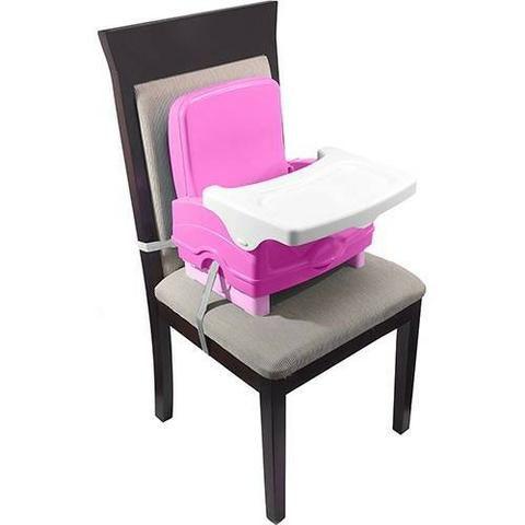 Cadeira De Alimentação Portátil Cosco, Nova e Lacrada, Cinza ou Rosa, cadeirinha refeição - Foto 3