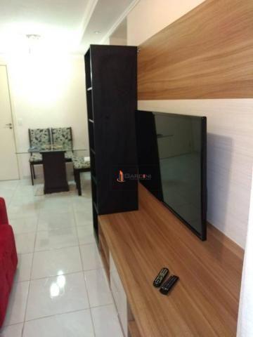 Nova Mogi I - Apartamento com 2 dormitórios à venda, 58 m² por R$ 265.000 - Mogi Moderno - - Foto 15