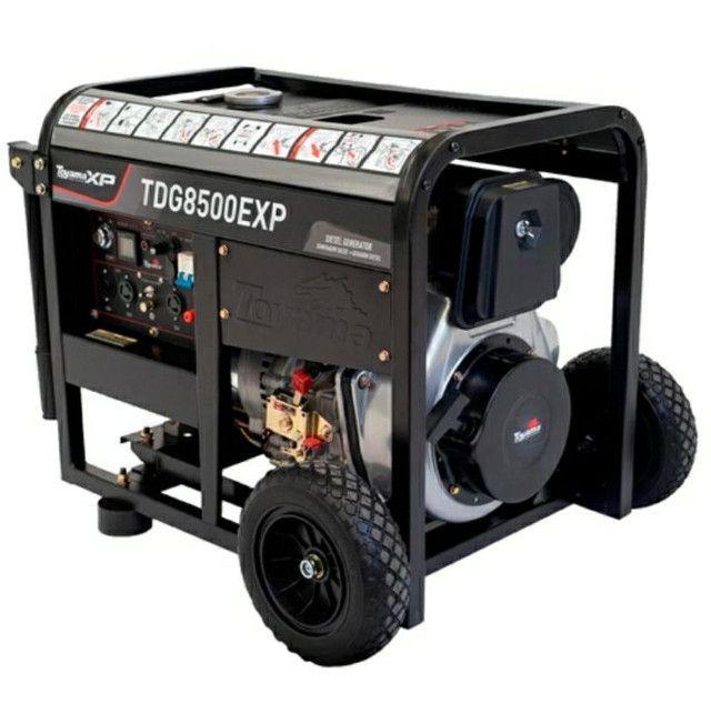 Aluguel de gerador Diesel 7.5 kVA