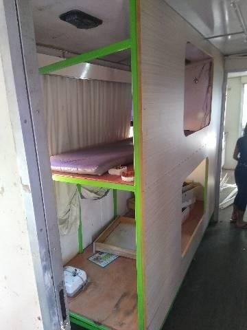Ônibus motorhome motor-casa rodeio aceito trocas - Foto 4