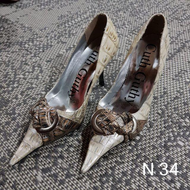 Sapatos e Botas femininos scarpin - Foto 3
