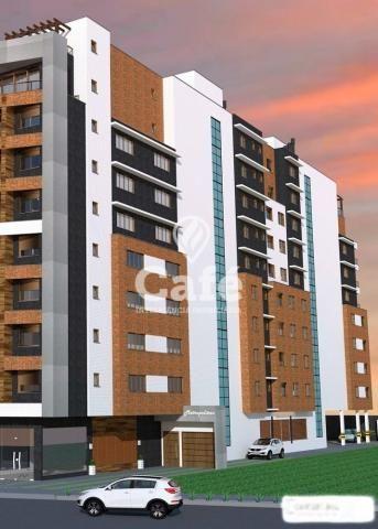 Apartamento à venda com 1 dormitórios em Nossa senhora medianeira, Santa maria cod:0596 - Foto 2