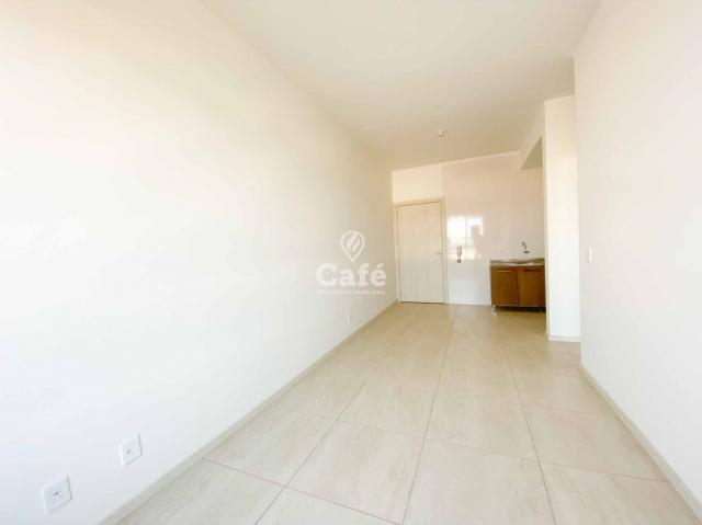Apartamento de 1 dormitório com garagem em Camobi - Foto 4