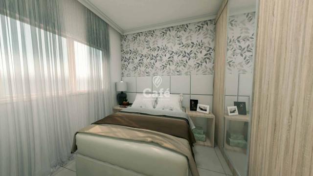 Apartamento de 1 dormitório com garagem no Centro de Santa Maria - Foto 3