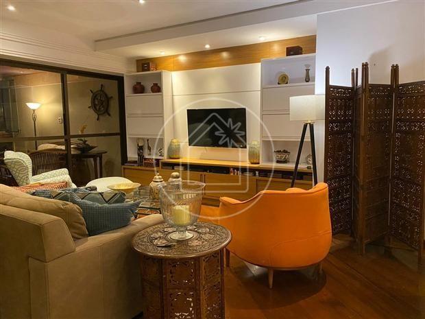 Apartamento à venda com 3 dormitórios em Barra da tijuca, Rio de janeiro cod:886847 - Foto 2