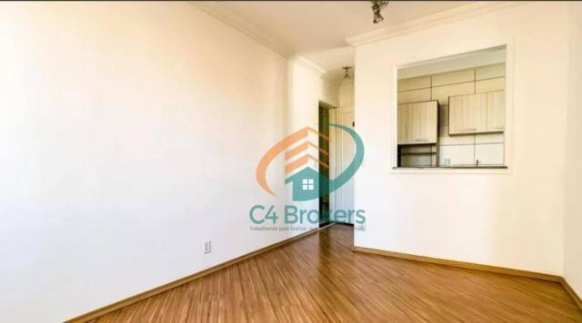 Apartamento com 2 dormitórios para alugar, 45 m² por R$ 1.547,00/mês - Ponte Grande - Guar - Foto 2