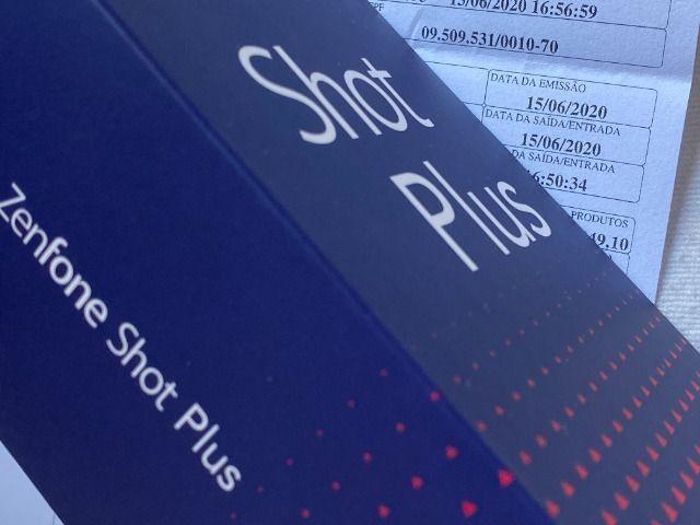 Asus Zenfone Shot Plus 128gb, 4gb RAM, Zero, NF + Garantia, Câmera Tripla, Dual Sim, Azul - Foto 4