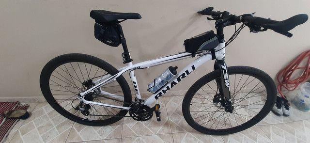 Bike hibrida. 2 meses de uso. vendo ou troco por speed.R$1.800,00