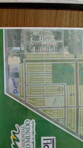 Lote Quitado de 225M2 localizado na Av. no Loteamento Novo Mundo VG - Foto 4