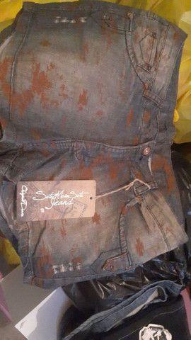 Lote de Jeans com 34 Peças todas novos com intiquetas $650,00 Reais.  - Foto 3
