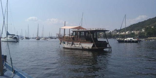 Barco Traineira 34 pés - Foto 9