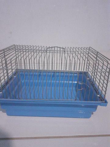 Kit gaiolas para hamsters: gaiola trasportadora e gaiola redonda 3 andares - Foto 5