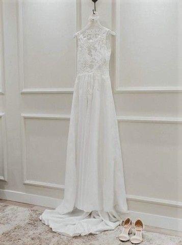 Vestido de noiva manequim 36 - Foto 4
