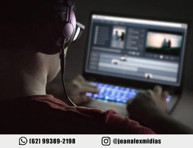 Criação e Edição de Videos - Videomaker Profissional - Filmagem e Edição/Editor/Filmmaker - Foto 5