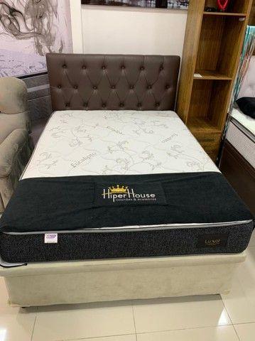 Base Box Bau Casal Interço 138x188x40.Compre Direto da Nossa Fábrica.2764-9592 Patricia. - Foto 2