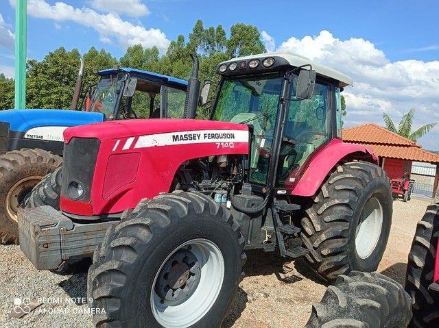 Vende-se Trator Massey 7.140.