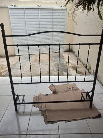 Linda Cabeceira toda em ferro perfeita para sua cama box  - Foto 4