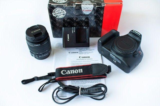 Canon Eos Rebel T7 com lente 18-55mm Is Ii 2500 Cliques - Foto 2