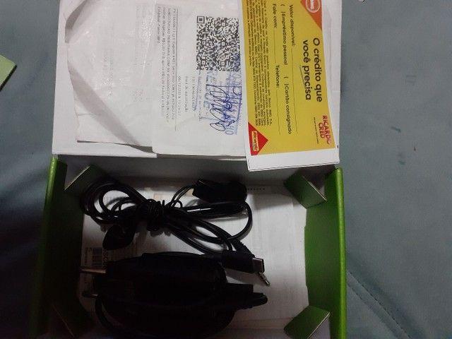 Moto G7play completo na caixa com nota fiscal  - Foto 2