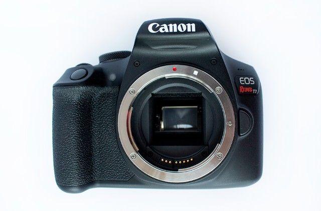 Canon Eos Rebel T7 com lente 18-55mm Is Ii 2500 Cliques - Foto 4