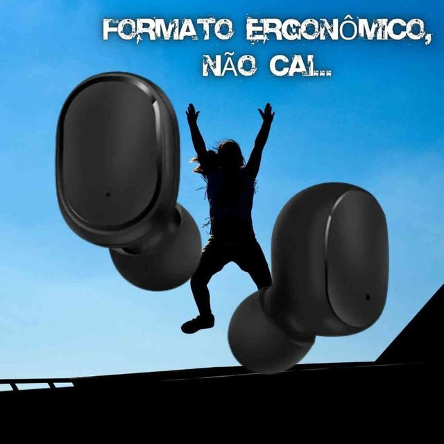 Fone Ouvido Digital True Esporte Bluetooth 5.0 E6s Tws - Foto 3