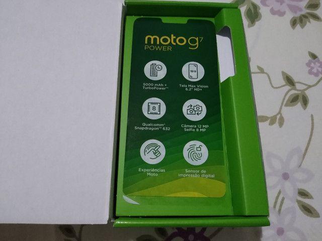 Moto G7 Power, 64 GB, lindo sem marcas de uso - Foto 4