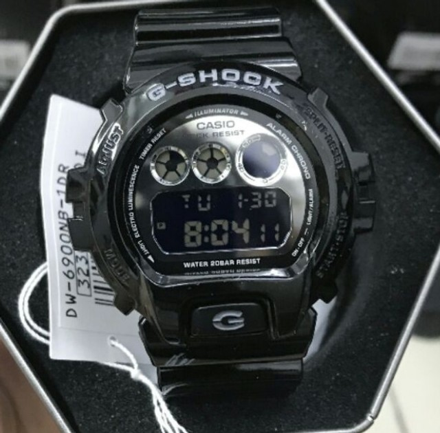 Relógio g-schok dw-6900nb-1dr *original* - Foto 3