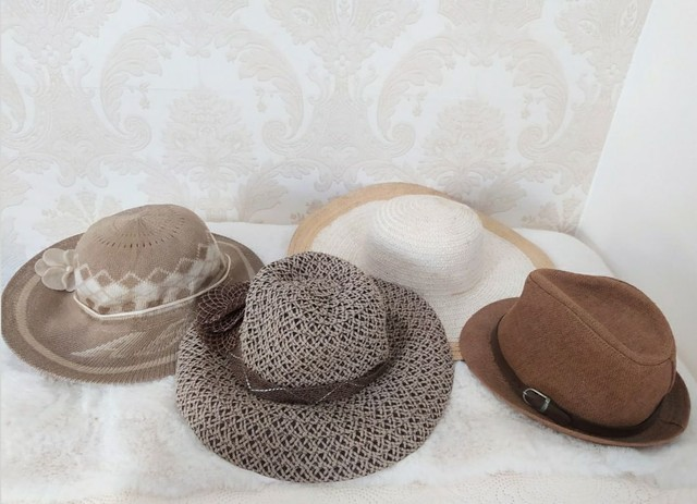 Conjunto 4 chapéus