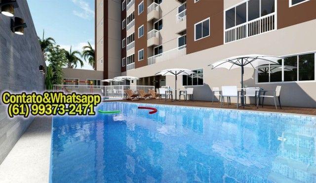 Apartamento em Goiânia, 2Q (1Suíte), 55m2, Garagem, Lazer Completo! Parcela. - Foto 5