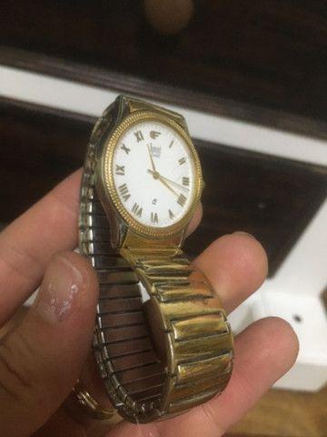 Relógio Dumont Feminino pulseira elástica - Foto 2