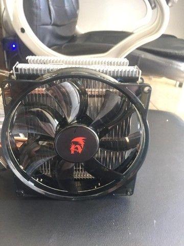 Cooler para Processador Redragon Reaver LED Vermelho, CC-1011 - Foto 3