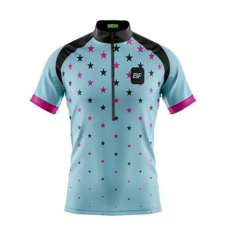 Camisas e bermuda feminina de ciclismo  - Foto 2
