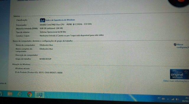 NOTEBOOK HP CORE PARA ESTUDOS COM WEBCAM  - Foto 6