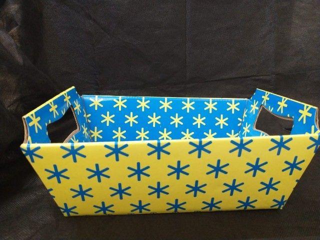 Lindas cestas de papel para o Dia das Mães  - Foto 5