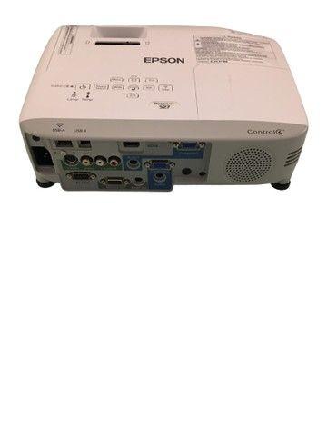 Projetor Epson PowerLite S27 - Modelo: H694A - Equipamento usado - Perfeito funcionamento - Foto 4