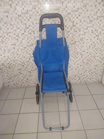 Exclusivo carrinho térmico com cadeira. - Foto 5