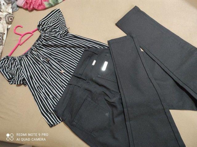 Calça preta 42
