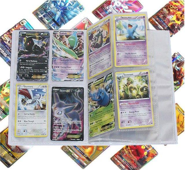 Álbum Pokémon + 100 Cartas Originais de Brinde - Foto 3
