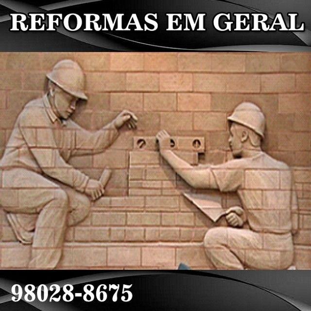 Reformas em geral em São Cristovão