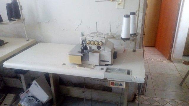 Máquina de costura : Interlock