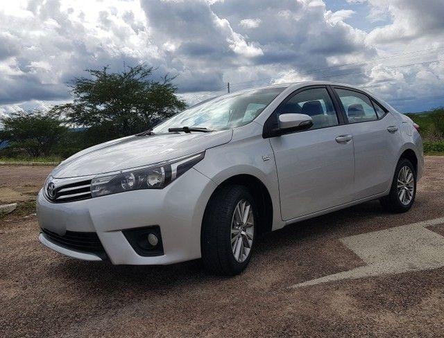 Toyota Corolla 2.0 Aut. Xei 2015 Pneus Novos Ipva 2021 Pago - Foto 8