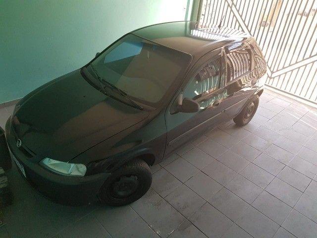 GM Celta Spirit 1.0 5P 05/05 Preto Gasolina - Foto 2