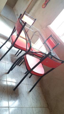 Mesa de Vidro R$600