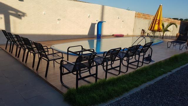 Alugo casa com piscina pra final de semana, em barra do Jacuípe, em condomínio fechado - Foto 7