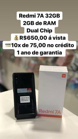 Redmi 7A 32Gb 10x de 75,00