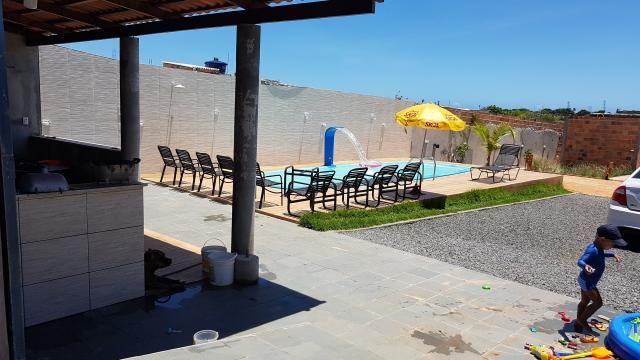Alugo casa com piscina pra final de semana, em barra do Jacuípe, em condomínio fechado - Foto 9