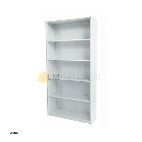 Armario MDF prateleira ideal para sua loja ou casa 0,90 x 1,85 x 0,30