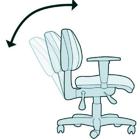 Cadeira Giratória $99 Back System - Foto 6